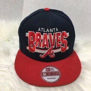 New Era Atlanta Braves SnapBack cap one size